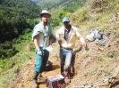 Insight field crew at La Bestia target