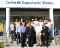 Managers, teachers & students of the Technical Institute Infotep at San Juan De La Maguana with representatives of the Canadian Embassy and GoldQuest