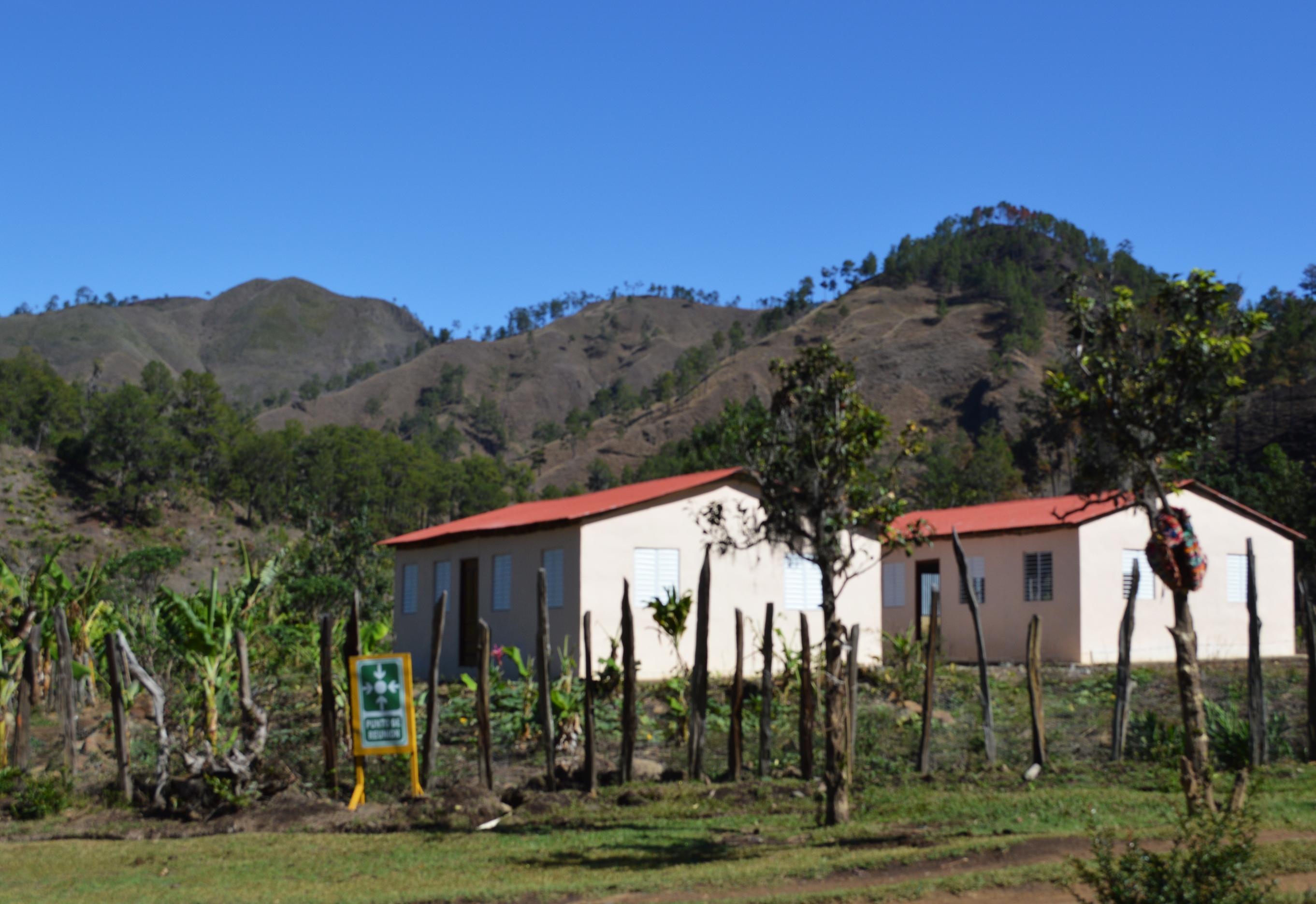 First Hondo Valle Primary School & Village Medical Clinic, built by GoldQuest